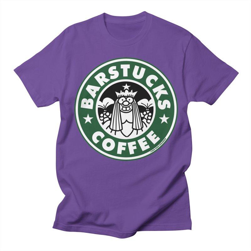 Barstucks Coffee Men's T-shirt by wislander's Artist Shop