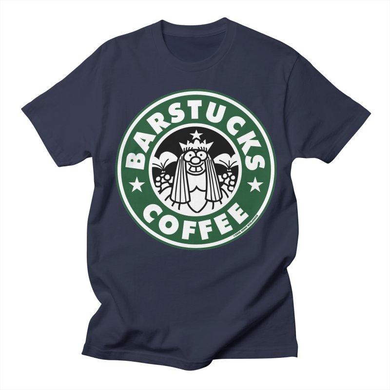 Barstucks Coffee Men's Regular T-Shirt by wislander's Artist Shop