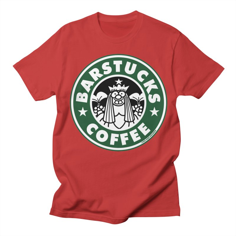 Barstucks Coffee Men's Regular T-Shirt by wislander's Artist Shop