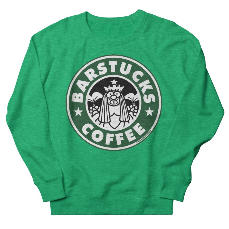 Barstucks Coffee Men's Sweatshirt by wislander's Artist Shop