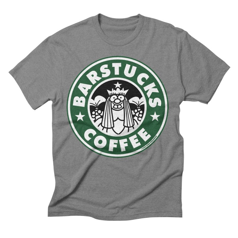 Barstucks Coffee Men's Triblend T-Shirt by wislander's Artist Shop