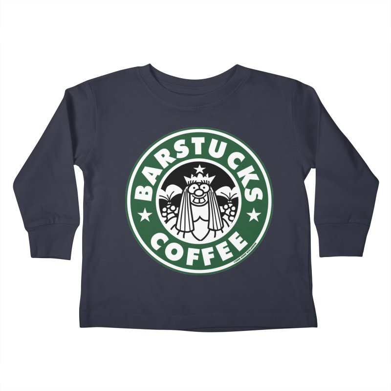 Barstucks Coffee Kids Toddler Longsleeve T-Shirt by wislander's Artist Shop