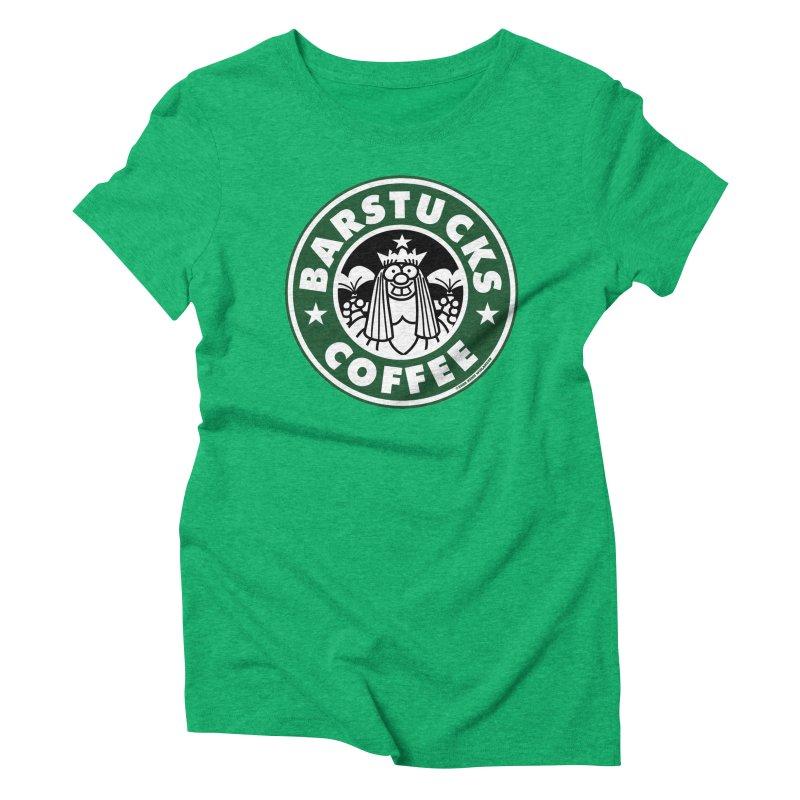 Barstucks Coffee Women's Triblend T-shirt by wislander's Artist Shop