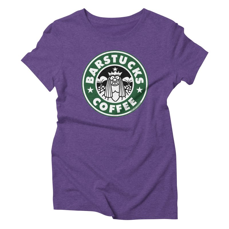 Barstucks Coffee Women's Triblend T-shirt by wislander's Artist Shop