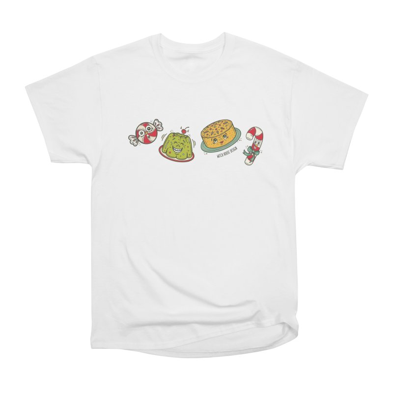 Holiday Treats Women's Heavyweight Unisex T-Shirt by Witch House Design