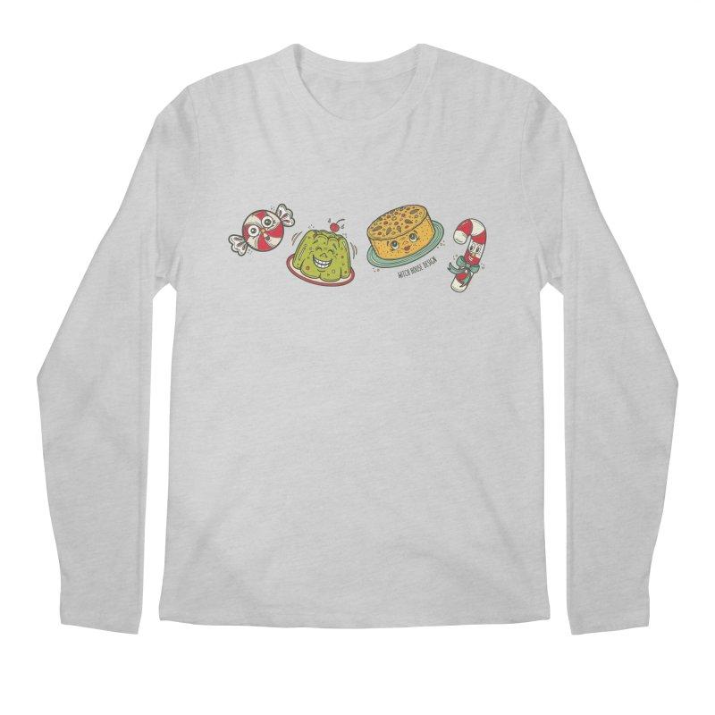 Holiday Treats Men's Regular Longsleeve T-Shirt by Witch House Design
