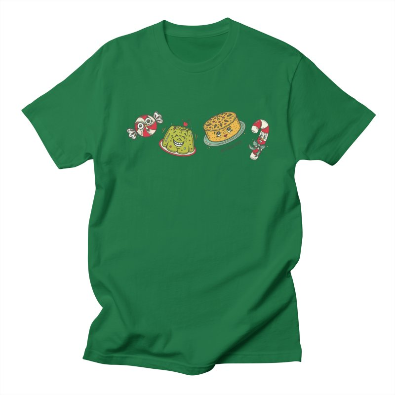 Holiday Treats Men's Regular T-Shirt by Witch House Design