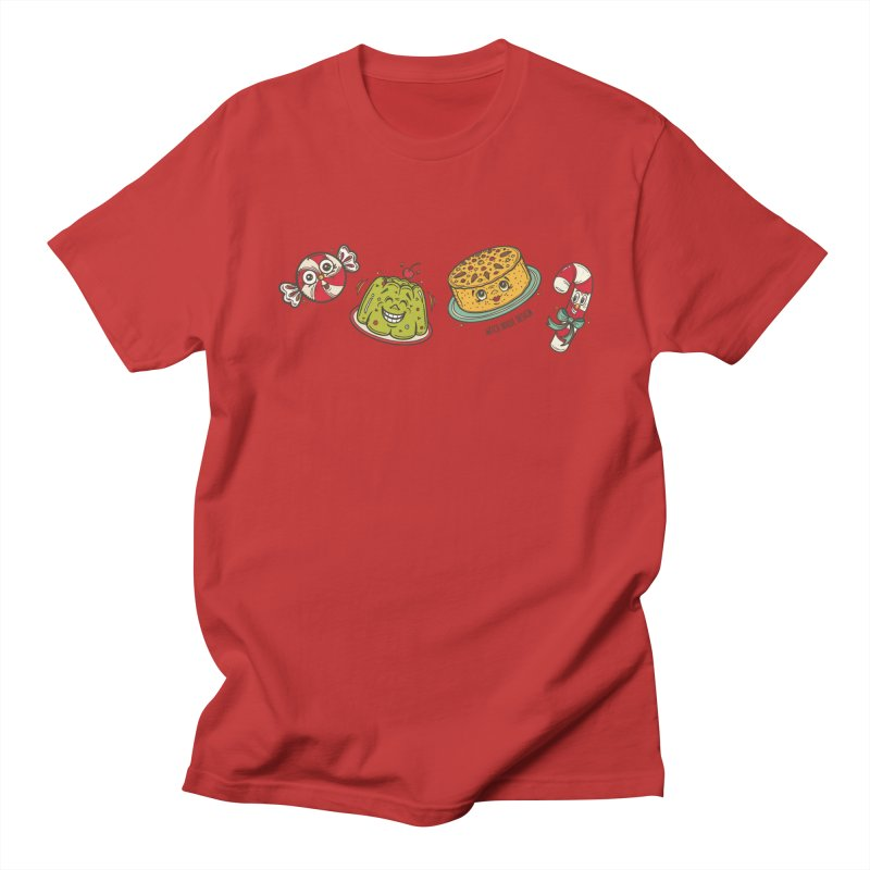 Holiday Treats Women's Regular Unisex T-Shirt by Witch House Design