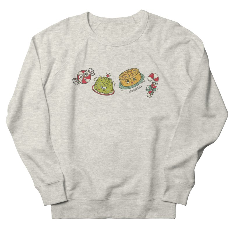Holiday Treats Men's French Terry Sweatshirt by Witch House Design