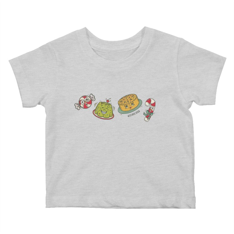 Holiday Treats Kids Baby T-Shirt by Witch House Design