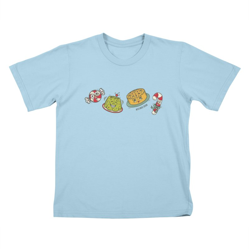 Holiday Treats Kids T-Shirt by Witch House Design