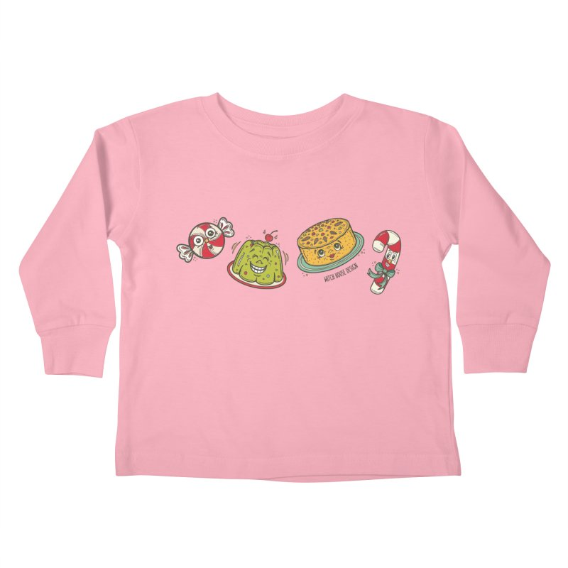 Holiday Treats Kids Toddler Longsleeve T-Shirt by Witch House Design