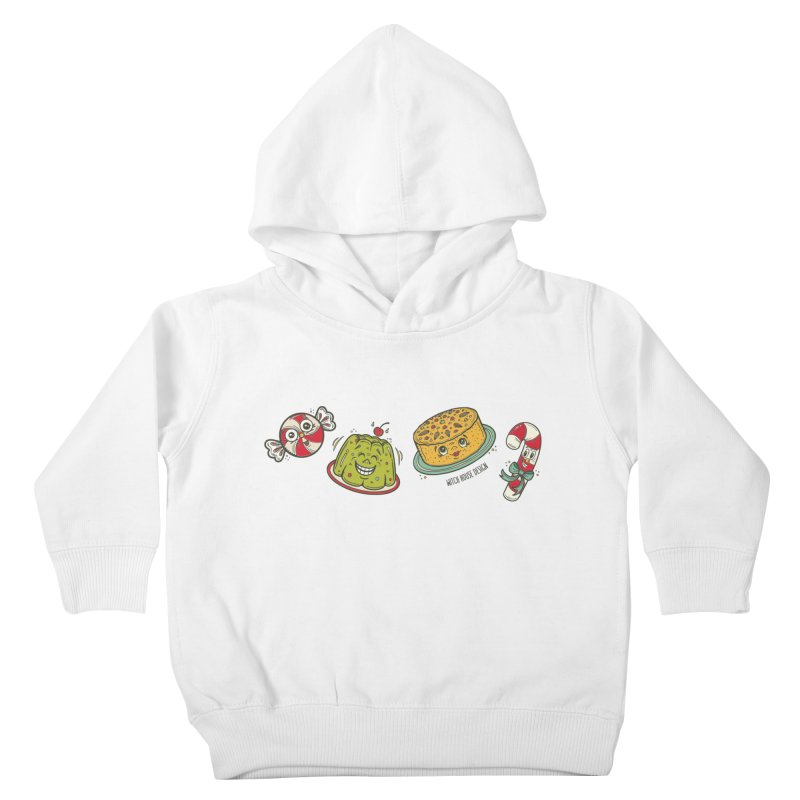 Holiday Treats Kids Toddler Pullover Hoody by Witch House Design