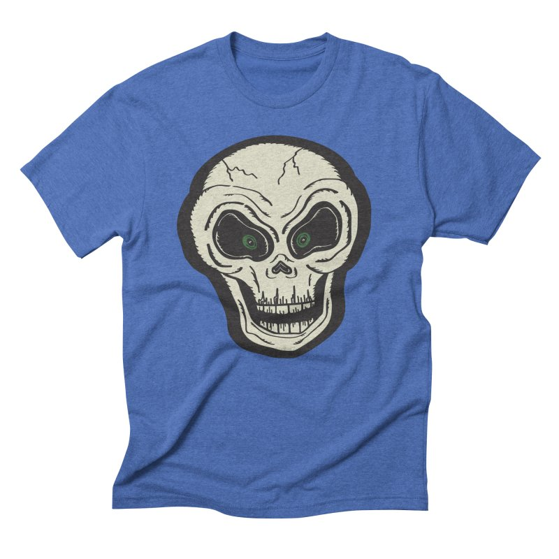 Skull   Full Color Men's T-Shirt by Witch House Design