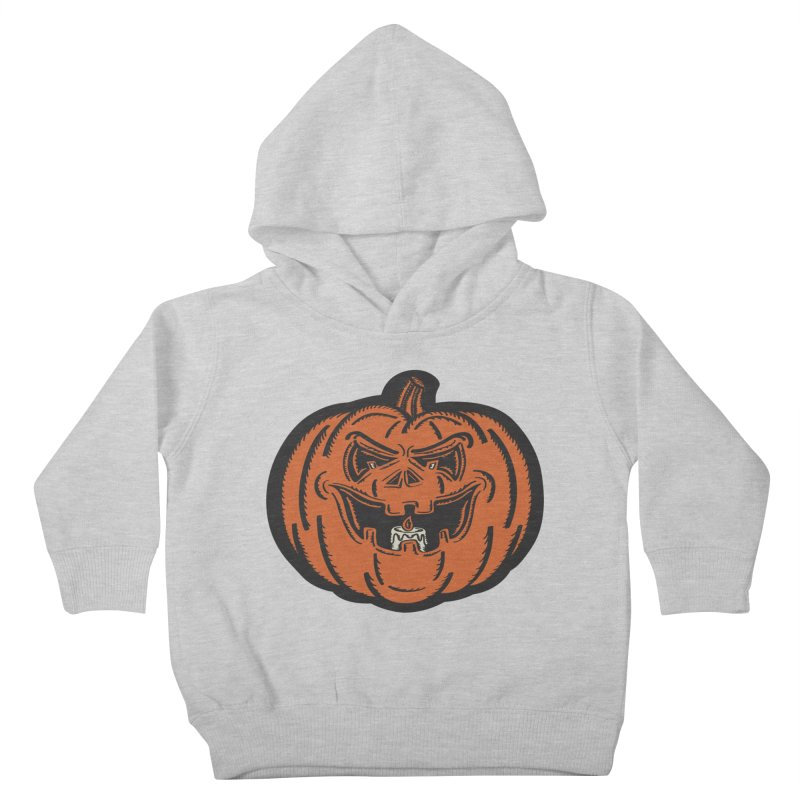Jack-o-Lantern Kids Toddler Pullover Hoody by Witch House Design