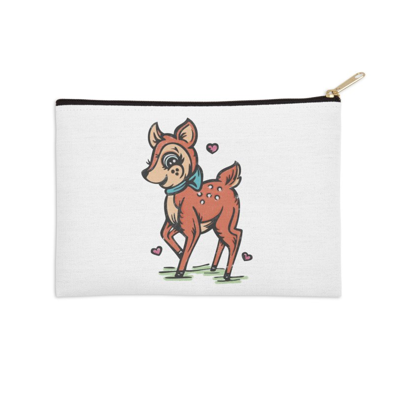 "You're ""Deer"" to Me! Accessories Zip Pouch by Witch House Design"