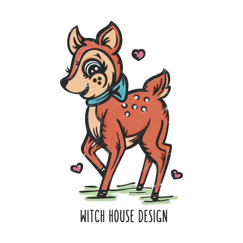 "You're ""Deer"" to Me! by Witch House Design"