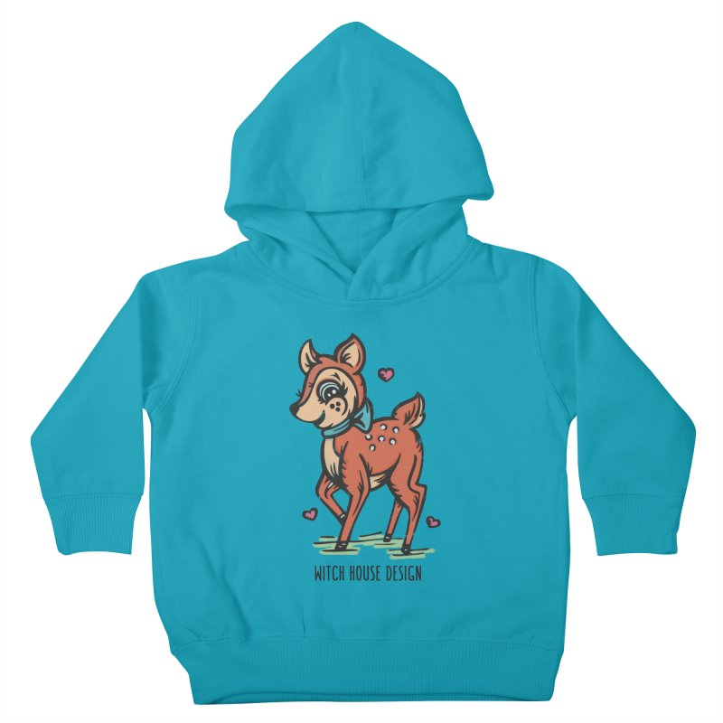 "You're ""Deer"" to Me! Kids Toddler Pullover Hoody by Witch House Design"