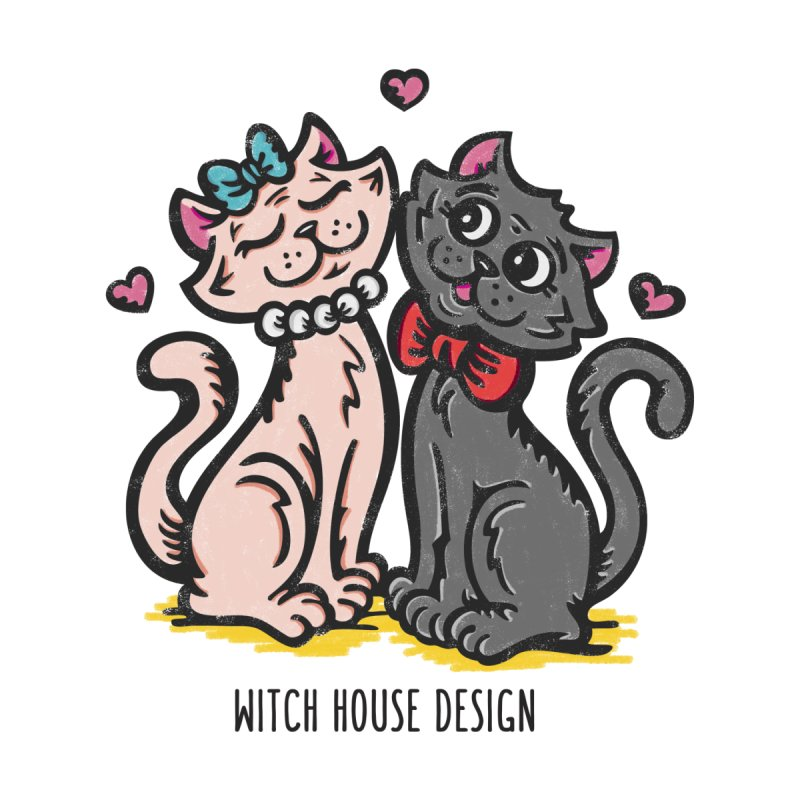 "You're the Cat's ""Meow!"" Accessories Zip Pouch by Witch House Design"