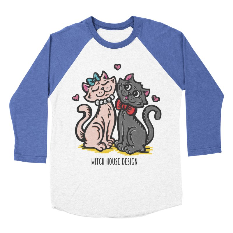 """You're the Cat's """"Meow!"""" Women's Baseball Triblend Longsleeve T-Shirt by Witch House Design"""
