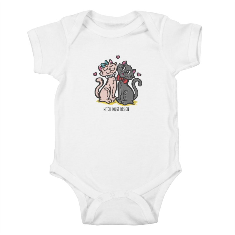 """You're the Cat's """"Meow!"""" Kids Baby Bodysuit by Witch House Design"""