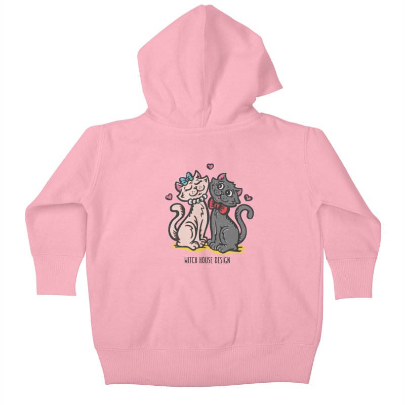 "You're the Cat's ""Meow!"" Kids Baby Zip-Up Hoody by Witch House Design"