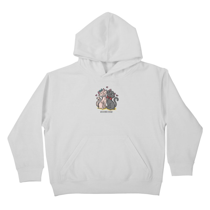 """You're the Cat's """"Meow!"""" Kids Pullover Hoody by Witch House Design"""