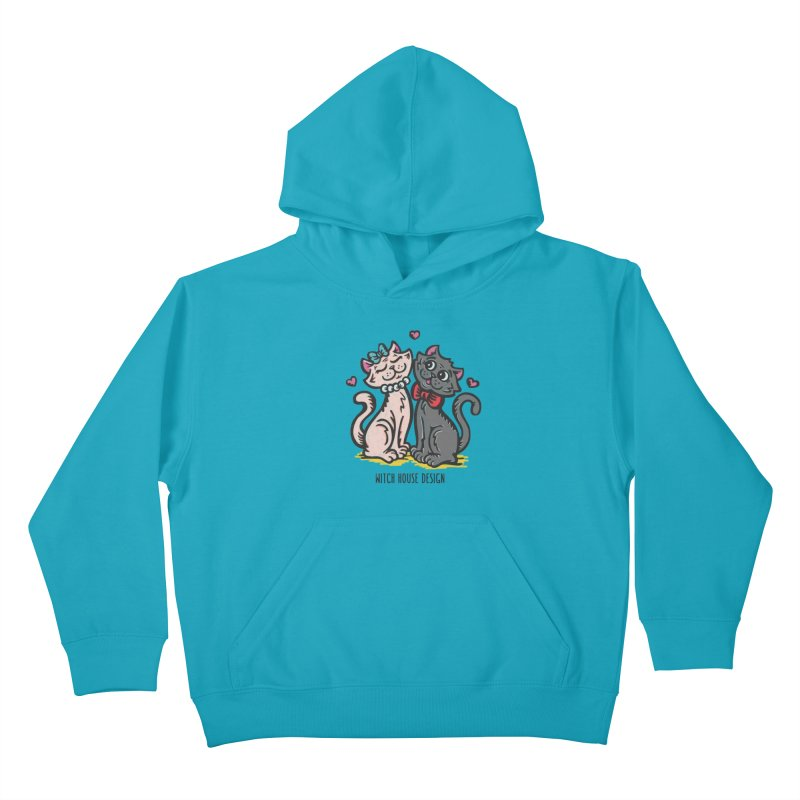 "You're the Cat's ""Meow!"" Kids Pullover Hoody by Witch House Design"