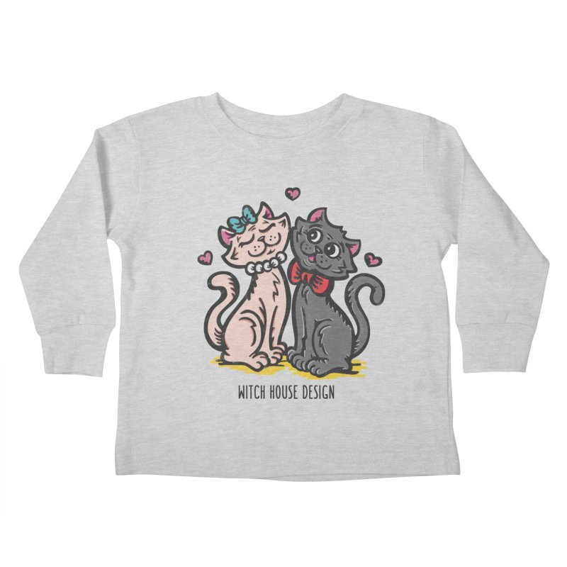 """You're the Cat's """"Meow!"""" Kids Toddler Longsleeve T-Shirt by Witch House Design"""