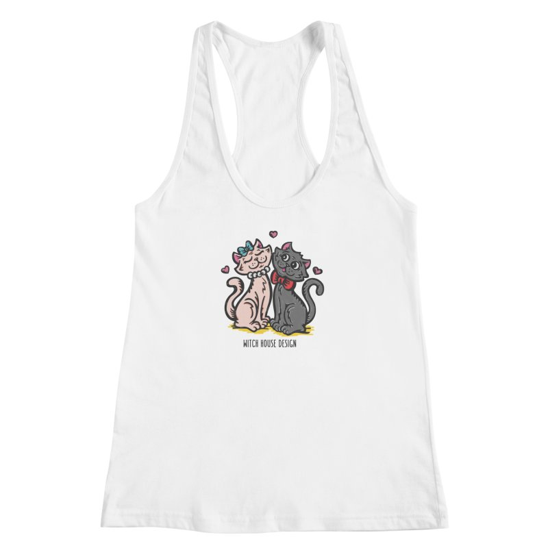 "You're the Cat's ""Meow!"" Women's Racerback Tank by Witch House Design"