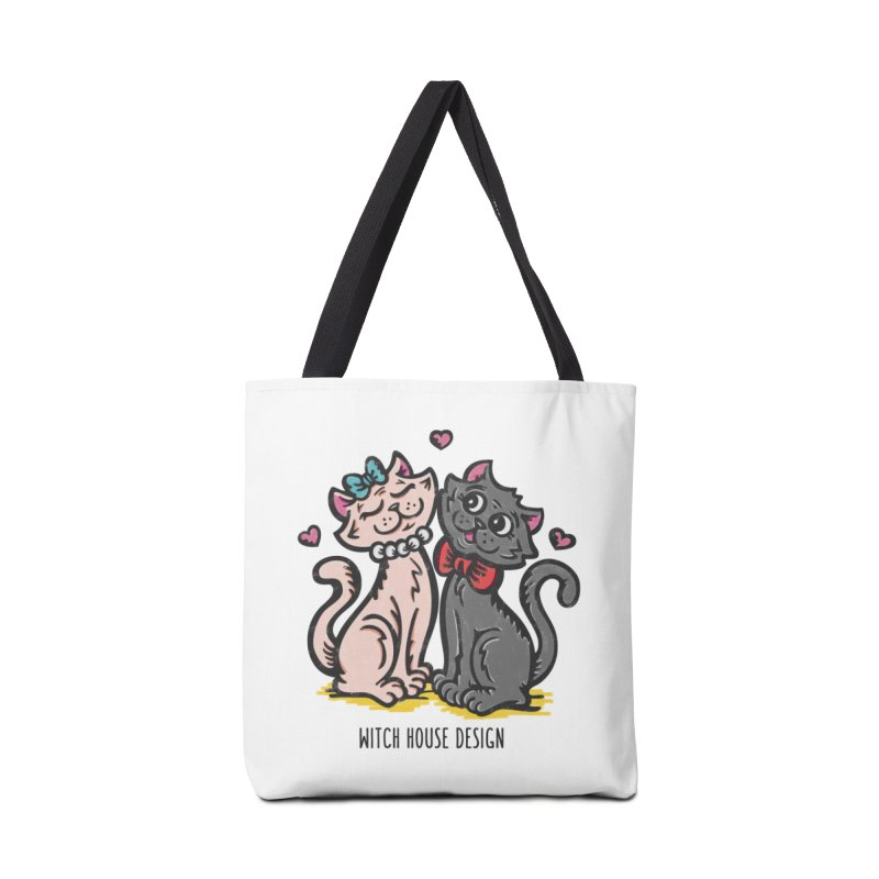 """You're the Cat's """"Meow!"""" Accessories Bag by Witch House Design"""