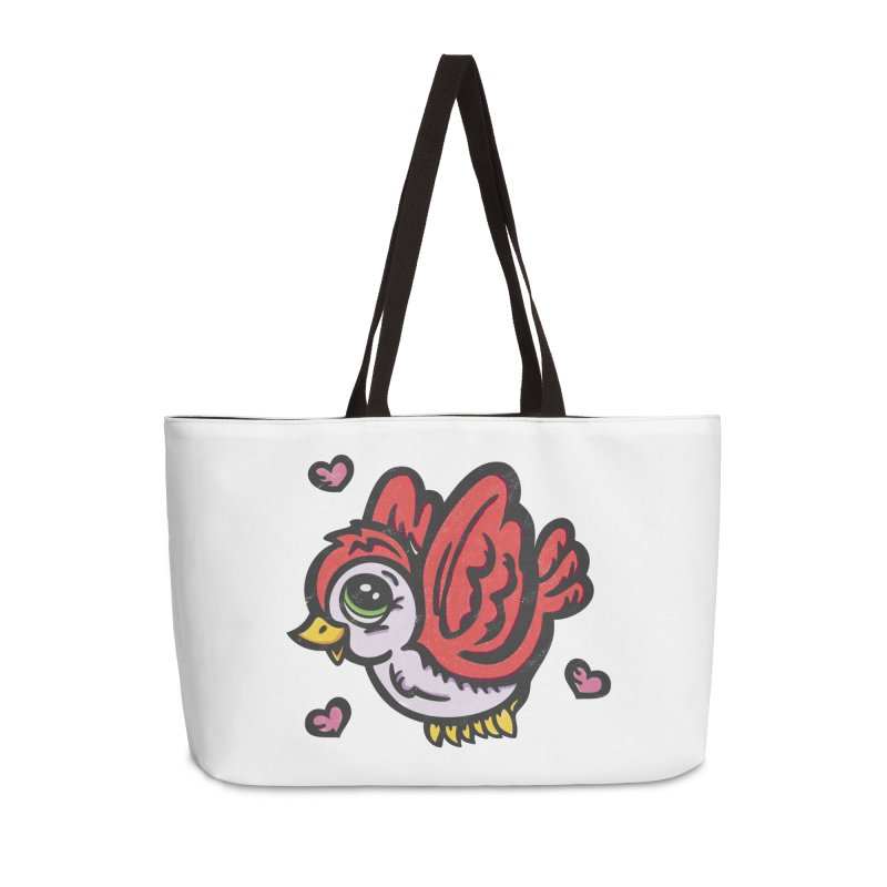 """You're """"Tweet!"""" Accessories Bag by Witch House Design"""