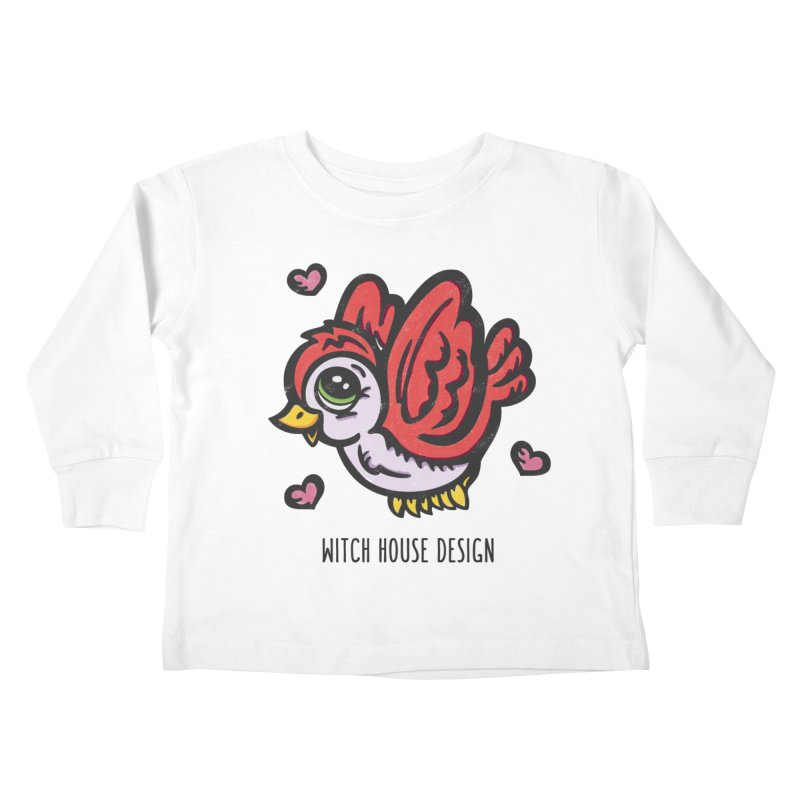 """You're """"Tweet!"""" Kids Toddler Longsleeve T-Shirt by Witch House Design"""
