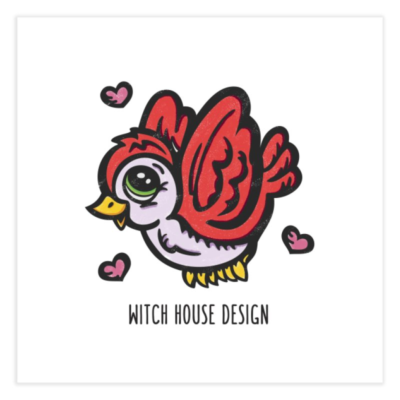 "You're ""Tweet!"" Home Fine Art Print by Witch House Design"