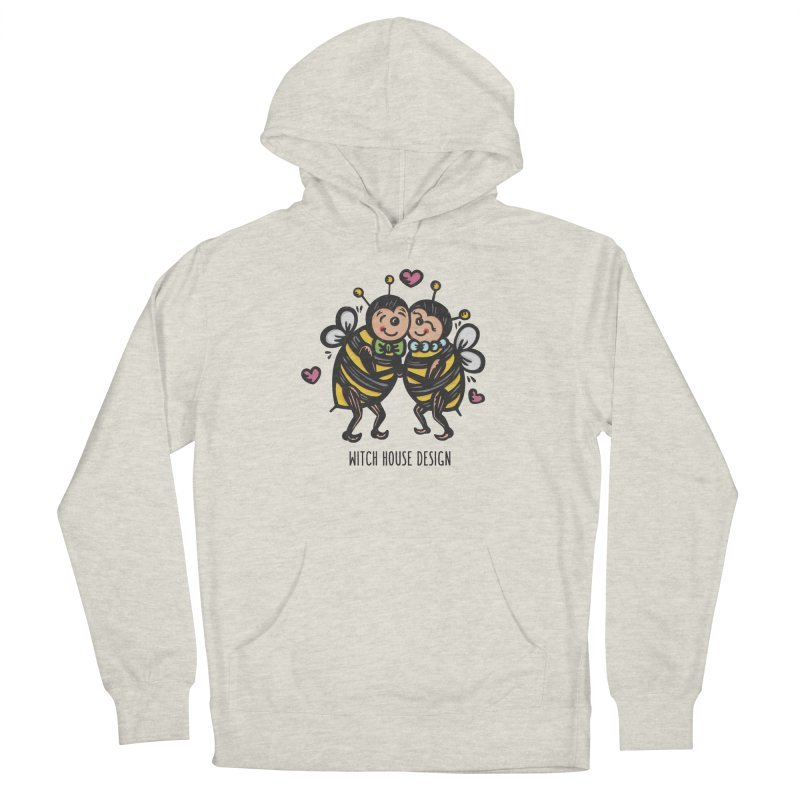 """Won't You """"Bee"""" My Honey? Men's Pullover Hoody by Witch House Design"""