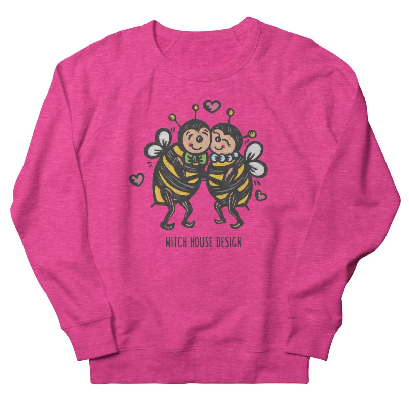 "Won't You ""Bee"" My Honey? Women's French Terry Sweatshirt by Witch House Design"