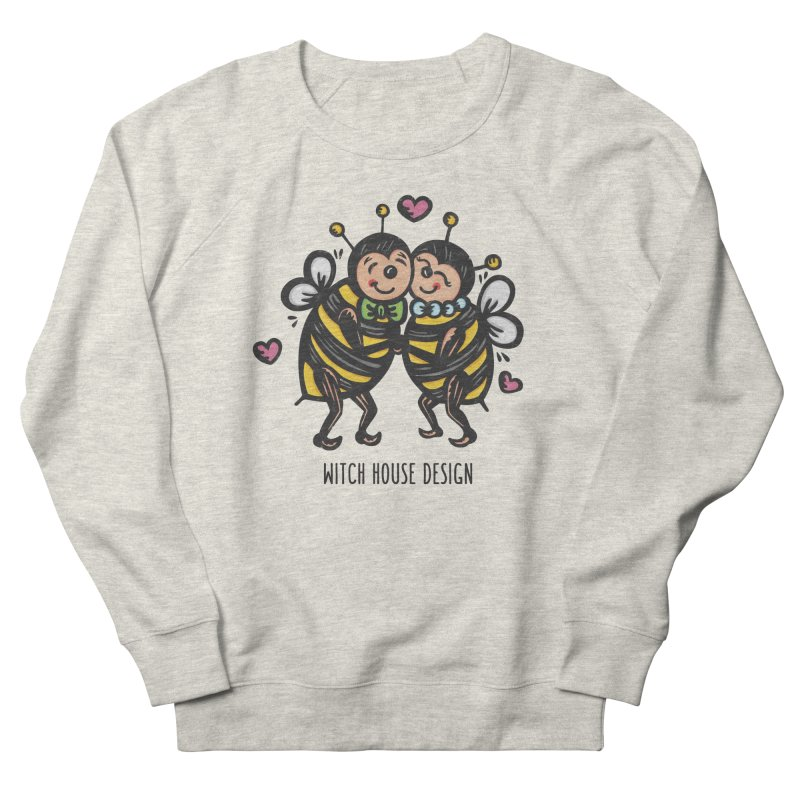 """Won't You """"Bee"""" My Honey? Men's French Terry Sweatshirt by Witch House Design"""