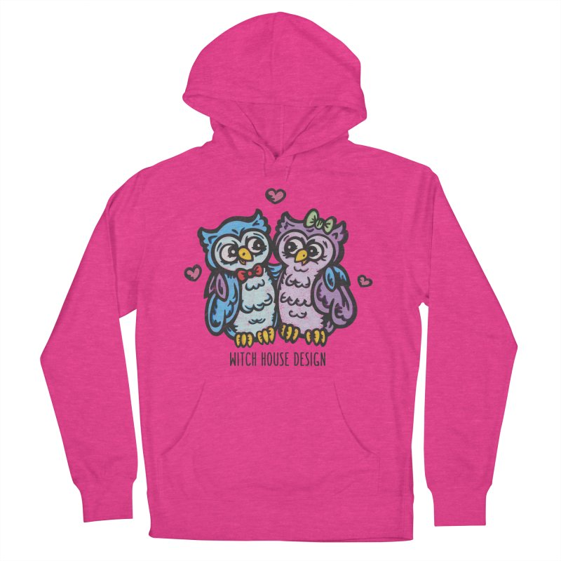 "You're a ""Hoot!"" Men's French Terry Pullover Hoody by Witch House Design"