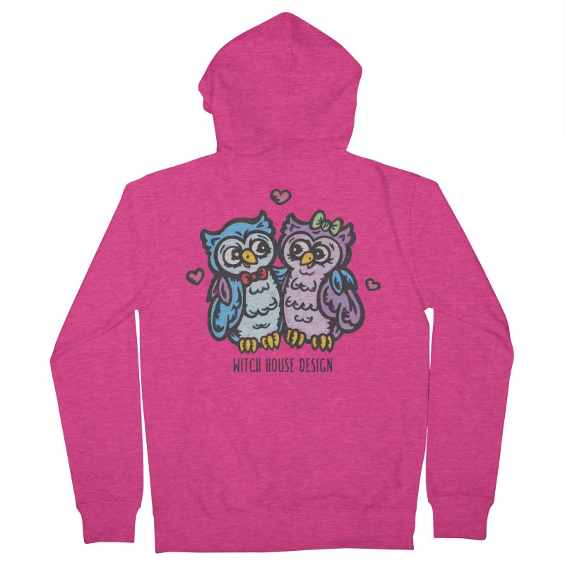 """You're a """"Hoot!"""" Women's French Terry Zip-Up Hoody by Witch House Design"""