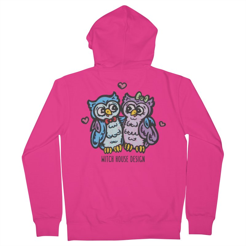 "You're a ""Hoot!"" Men's French Terry Zip-Up Hoody by Witch House Design"