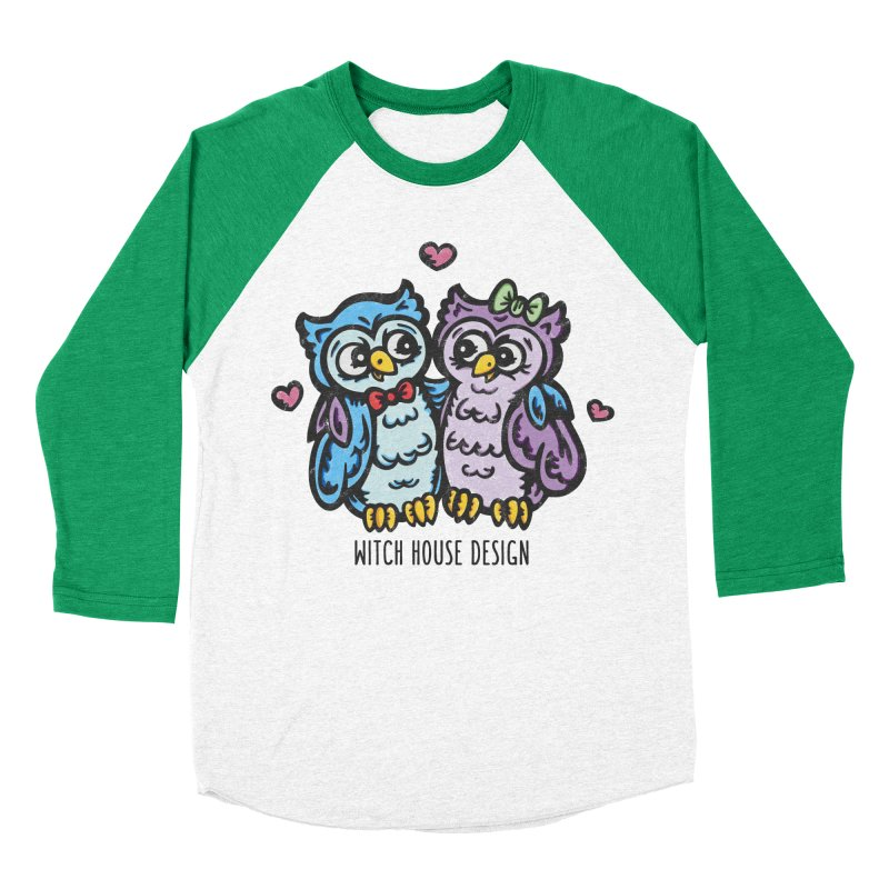 "You're a ""Hoot!"" Women's Baseball Triblend Longsleeve T-Shirt by Witch House Design"