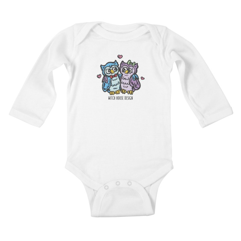 """You're a """"Hoot!"""" Kids Baby Longsleeve Bodysuit by Witch House Design"""