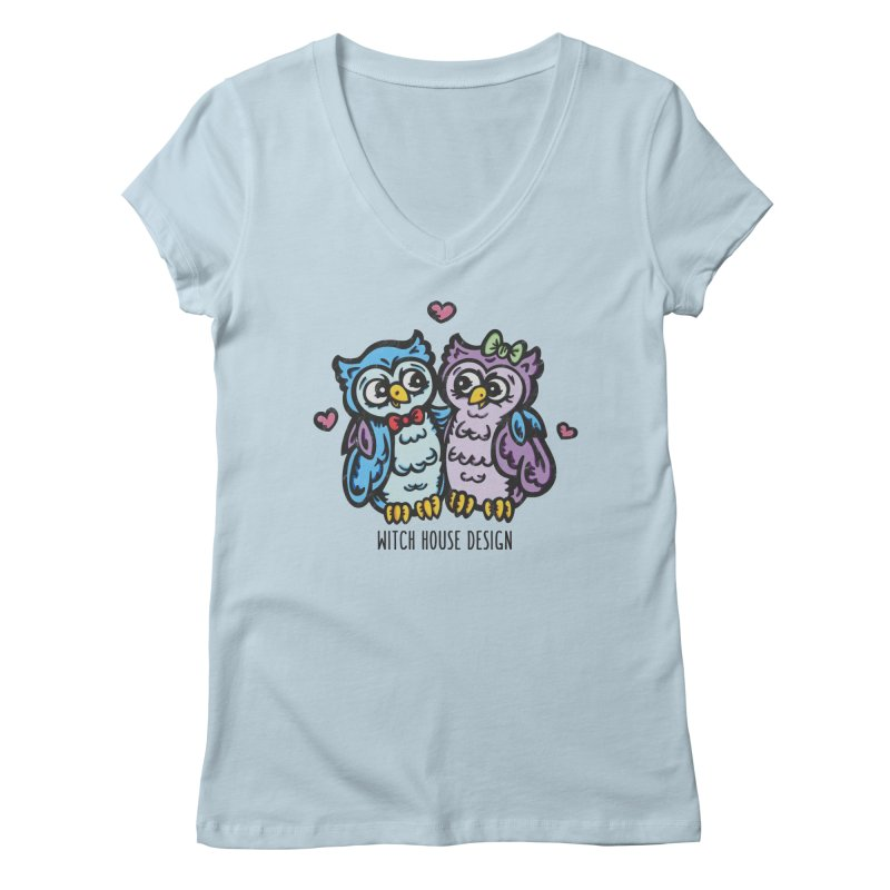 """You're a """"Hoot!"""" Women's V-Neck by Witch House Design"""