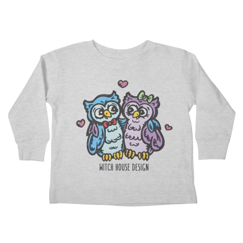 """You're a """"Hoot!"""" Kids Toddler Longsleeve T-Shirt by Witch House Design"""