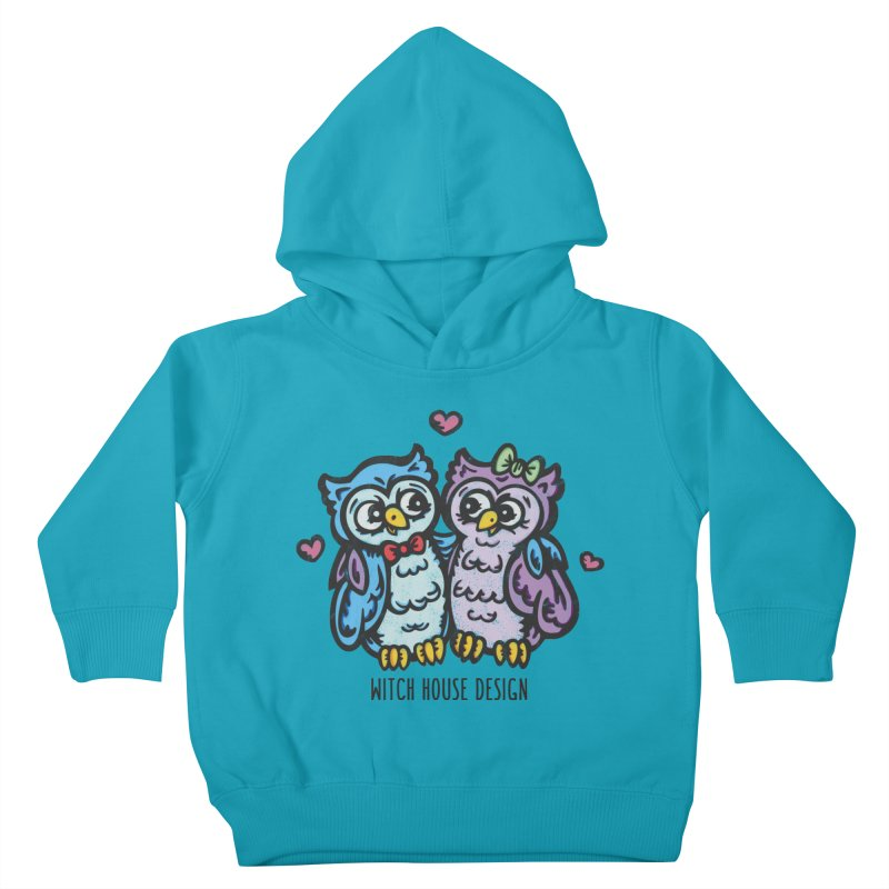 """You're a """"Hoot!"""" Kids Toddler Pullover Hoody by Witch House Design"""