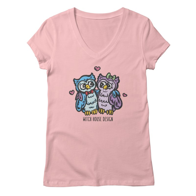 "You're a ""Hoot!"" Women's Regular V-Neck by Witch House Design"