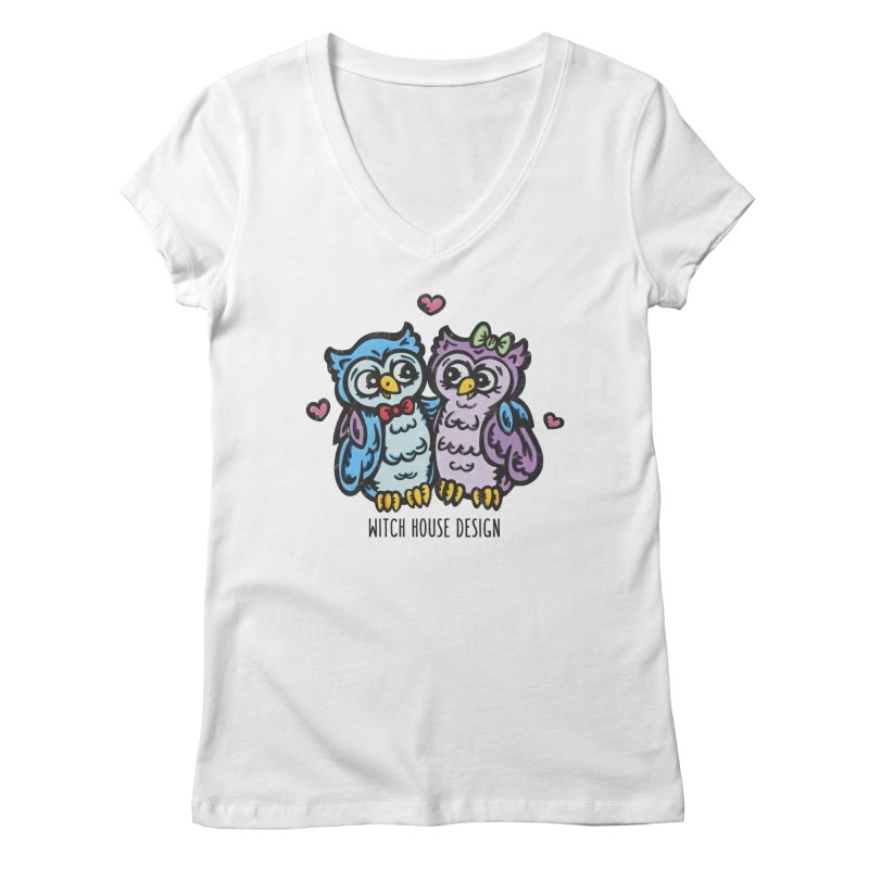 """You're a """"Hoot!"""" Women's Regular V-Neck by Witch House Design"""