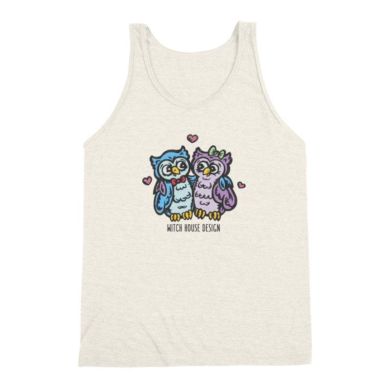 "You're a ""Hoot!"" Men's Triblend Tank by Witch House Design"