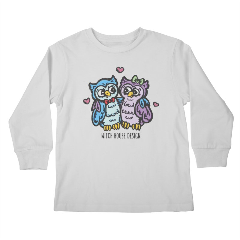 """You're a """"Hoot!"""" Kids Longsleeve T-Shirt by Witch House Design"""