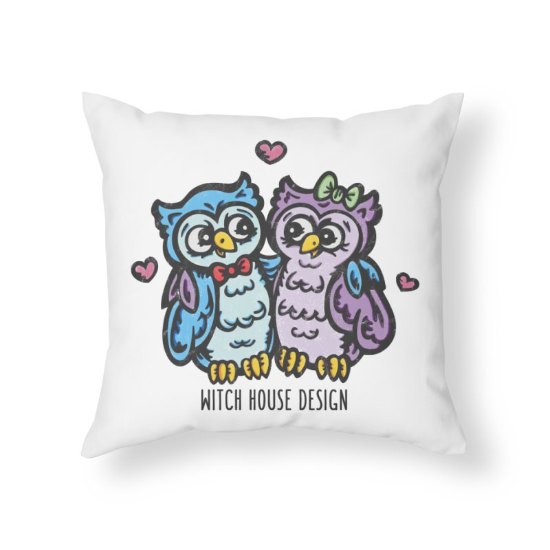 "You're a ""Hoot!"" Home Throw Pillow by Witch House Design"